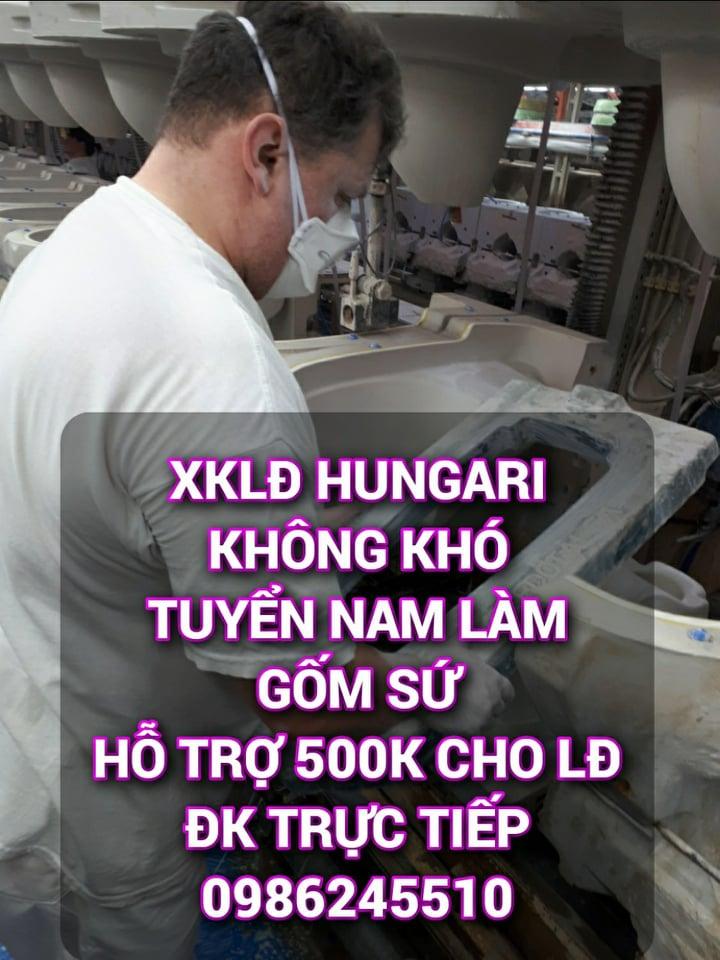 [HUNGARI] TUYỂN NAM PHỔ THÔNG LÀM VIỆC TẠI NHÀ MÁY GỐM SỨ CHÂU ÂU NGÀY 09.03.2020 4